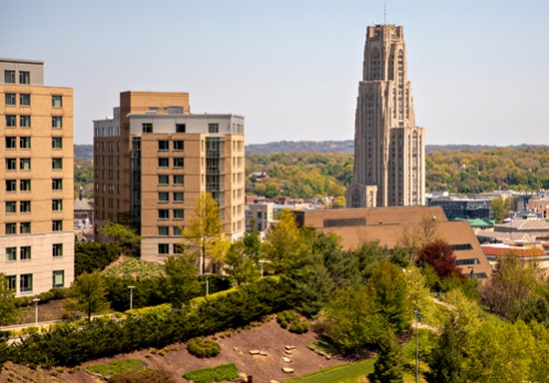 Photo of the Pittsburgh campus