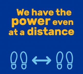 Power at a distance graphic