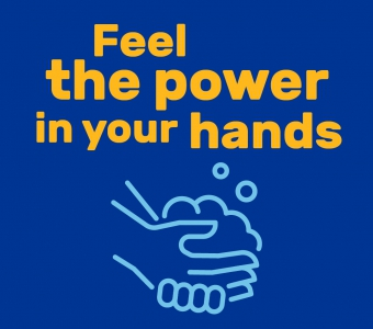 Power in your hands graphic